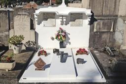 Rénovation et embellissement de sépulture à Grenoble